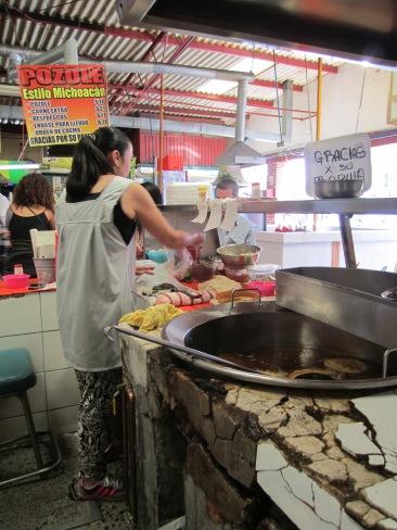 Las mejores quesadillas del mercado de Coyoacán