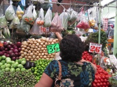 En los mercados hay que confiar en el marchante.