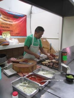 Los mejores tacos campechanos de la ciudad, en el mercado de Portales